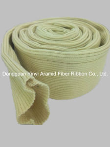 High Temperature Resistant Hollow Aramid Fiber Ribbon for Pipe Sleeve pictures & photos