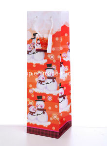 New Fashion Christmas Paper Wine Bags pictures & photos