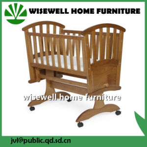Sensational Solid Pinewood Baby Cradle Squirreltailoven Fun Painted Chair Ideas Images Squirreltailovenorg