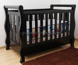 China Wooden Baby Cot Crib For
