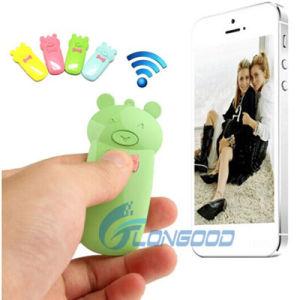 Cute Bear Style Camera Wireless Bluetooth Remote Shutter Control for iPhone  5 & 5c & 5s iPad Air / Mini Samsung Galaxy Note 3