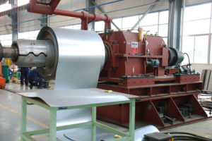 China Decoiler / Uncoiler for Tension Leveling Line - China