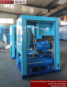 Industrial Rotary Screw Air Compressor with Air  Storage Tank pictures & photos