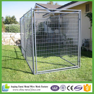 Hot DIP Galvanized Square Pipe Wire Dog Kennel Manufacturers