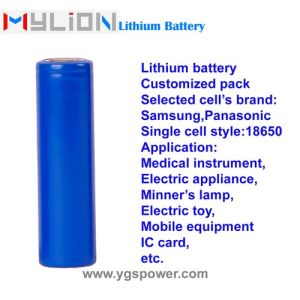 Hight Quality Lithium Battery for Medical Products ECG etc.