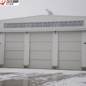 High Quality Sectional Motorized Industrial Thermal Insulated Vertical Sliding  Door