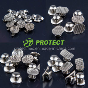 Dental Orthodontic Lingual Button Weldable Bondable
