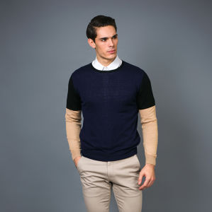 Men′ S Fashion Cashmere Blend Sweater 17brpv094 pictures & photos
