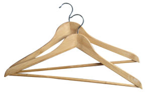 Recyclable Bamboo Eco material Clothes Hangers pictures & photos