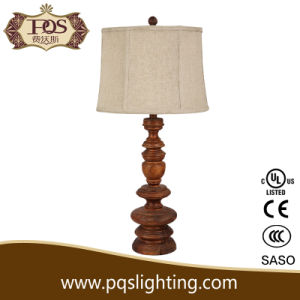 Wood Decorative Lamps Table
