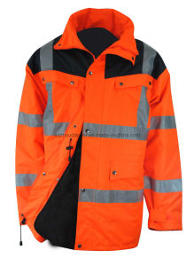 High Visibility Waterproof Parka (EUR014)
