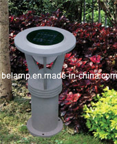 Outdoor Solar Street Lawn Light with CE, RoHS, FCC Approval