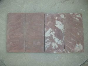 China Red Slate Tiles For Wall