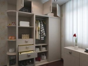 Home Furniture Customised Wood Wardrobe Closet (zy-027) pictures & photos