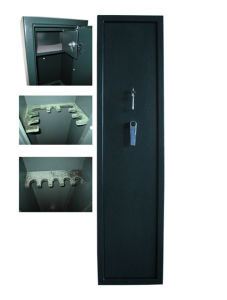 Long Rifle Cabinet of Key Locks and Handle (GUN-S1450KL/7) pictures & photos