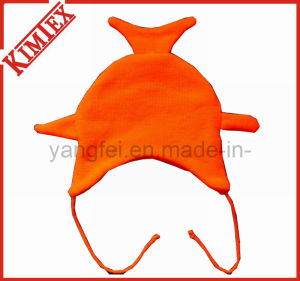 Fashion Acrylic Knitted Jacqaurd Leisure Animal Hat pictures & photos