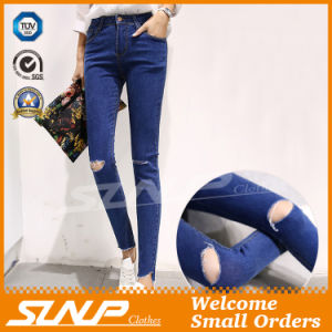 High Waist Skinny Stretch Lady Long Jean Pant Costume