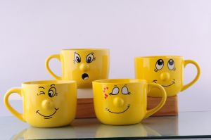 Ceramic Smiley Mug