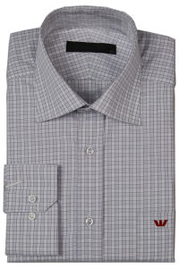 Men′s Cotton/ Poly Dress Shirts (PL-M-SHT007)