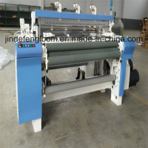 2 Color Denim Fabric Air Jet Loom with Cam Shedding pictures & photos