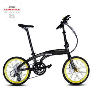 20 Inch Commuter Folding Bicycle with Aluminium Alloy Frame