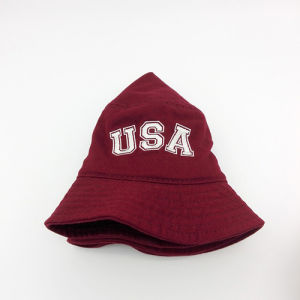 High Quality Letter Fashion Casual Bucket Cap (B001) pictures & photos