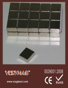Rare Earth Block Magnet Size: 23mm X 20mm X 12mm