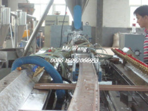 WPC Machinery Wood Plastic Extrusion Lines for Indoor Decoration Material
