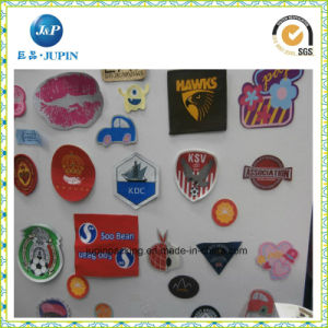 Custom Embroidery Patch Cheap Iron-on Garment Woven Badge/Woven Patch (JP-035) pictures & photos