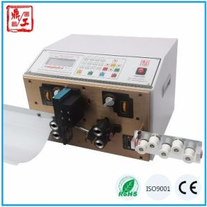 High Quality Full Automatic Sheathed Cable Wire Cutting Stripping Twisting Machine pictures & photos
