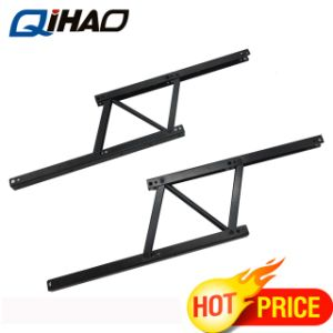 Steel Spring Loaded Mechanical Lift Table Mechanism Hinge For Coffee Laptop  Draft Table