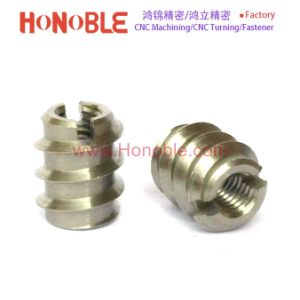 Stainless Steel Self-Tapping Threaded Insert for Woods