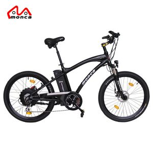 Cycling 26inch Electric Mountain Bicylce 48vlithium Battery 500w Motor Smart Lcd Assist Bike Pas Ebike Aluminum Mountain Bike 50km Range Elegant In Smell