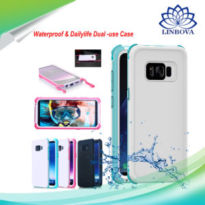 san francisco 2f049 16d9e Waterproof Mobile Phone Cases TPU+PC Dustproof Phone Cover for Samsung S8  S8 Plus iPhone 8 /7s /6s Plus
