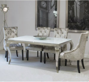 Merveilleux Modern Dining Room French Louis Super White Dinner Table And Chair