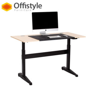 China Hydraulic Lift Table Desk Hot Sell Pre Assembled Standing Sale