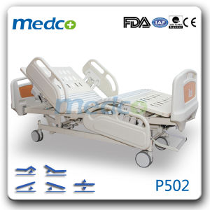 Five Function Electric ICU Bed Hospital Bed with CPR Function