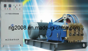 High Pressure Grout Pump with Frequency Conversion 50/30mpa