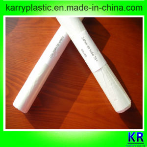 HDPE Strong White Flat Bags Plastic Trash Bags pictures & photos