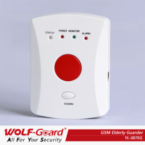 GSM Sos Emergency Security Alarm System for Disabled, Elderly People with Push Button pictures & photos