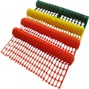 Heavy Duty Orange Safety Barrier Mesh Fence