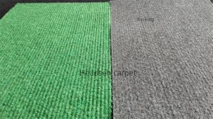 Polyester Ribbed Colorful Non Woven Fabric pictures & photos
