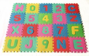 36PCS EVA Foam Soft Mat Educational Letter&Numbers Crawl Mat Puzzle Tile for Kids Baby pictures & photos