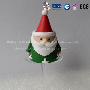 Mini Polymer Clay Christmas Decoration Santa Claus pictures & photos