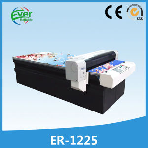 Digital Flatbed Genuine Leather Belt Printing Machine for Leather Printing