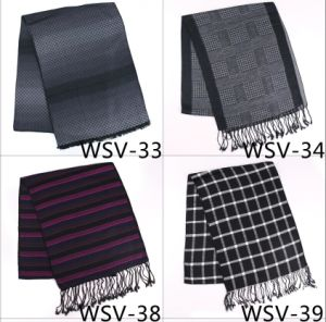 New Design Men′s Fasion Viscose Scarf (Wsv-33) pictures & photos