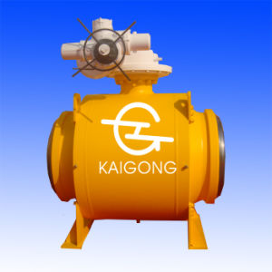 Fully-Welded Ball Valve