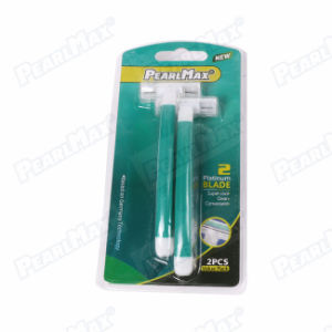 Green Color High Sweden Stainless Steel Blade Razor pictures & photos