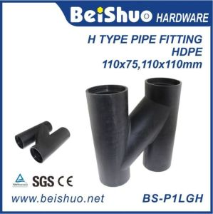 Pipe Fitting Supplier with H Type Vent Pipe pictures & photos