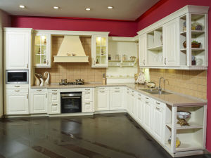 Ready Made PVC Kitchen Furniture (zc-052)